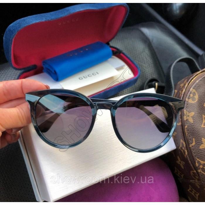 Женские солнцезащитные очки с поляризацией (3899) blue