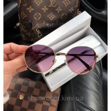 Женские брендовые солнцезащитные очки (7315) rose