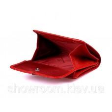 Невеликий жіночий шкіряний гаманець (902) червоний