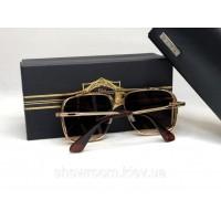 Мужские солнцезащитные очки маска Dita (1003) brown