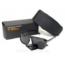 Мужские солнечные очки маска Porsche Desing (8055) черный