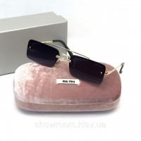 Женские модные очки от солнца Miu Miu (870)