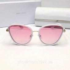 """Жіночі сонцезахисні окуляри """"кішечки"""" (89) white"""