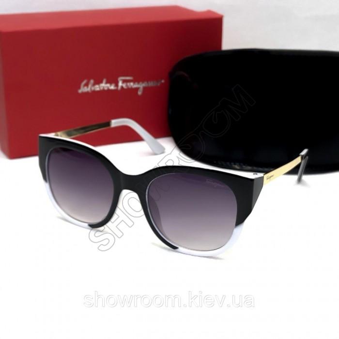 Женские стильные солнцезащитные очки Salvatore Ferragamo (8601)