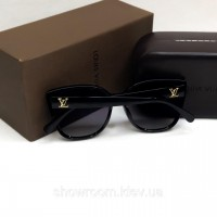 Женские очки от солнца с поляризацией LV (3420) черные