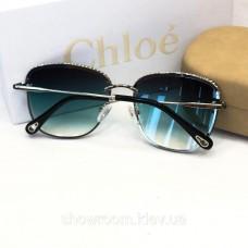 Женские брендовые солнцезащитные очки Chloe (202) green