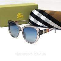 Женские солнцезащитные очки с поляризацией Burberry (2720) серые