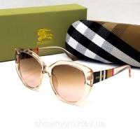 Женские солнцезащитные очки с поляризацией Burberry (2720) розовые