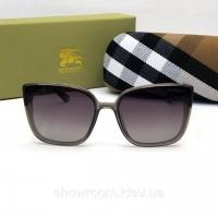 Женские брендовые солнцезащитные очки Burberry (3089) grey