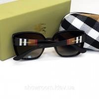 Женские брендовые солнцезащитные очки Burberry (3089) black