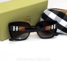 Жіночі брендові сонцезахисні окуляри Burberry (3089) black
