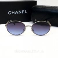 Женские брендовые очки от солнца (60602) blue