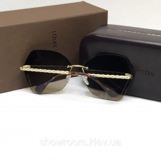 Жіночі сонцезахисні окуляри Louis Vuitton (2015) brown