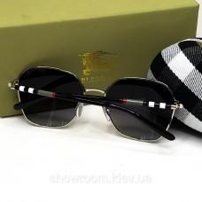 Женские брендовые солнцезащитные очки Burberry (3141) black