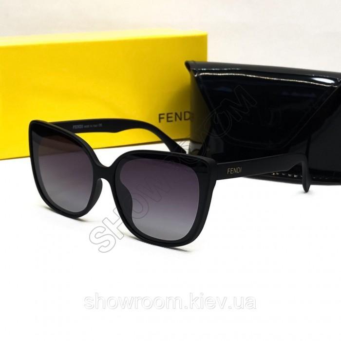 Женские брендовые солнцезащитные очки Fendi (8403)