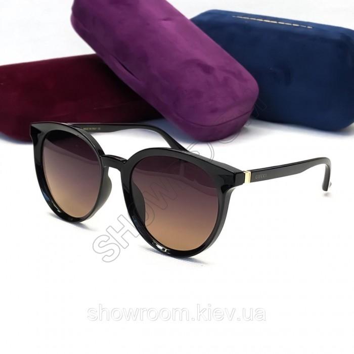 Женские солнцезащитные очки с поляризацией (3899) brown