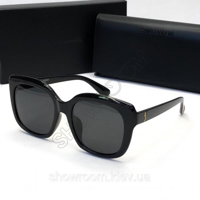 Женские солнцезащитные очки с поляризацией Yve Saint Laurent (1229) black