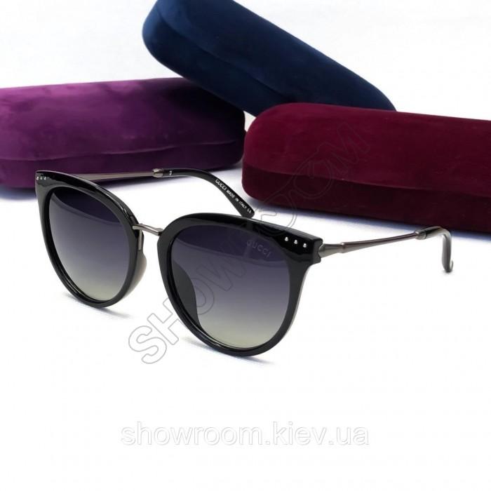 Женские солнцезащитные очки Gucci (8800) black