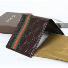 Чоловіче портмоне Gucci (138042) brown