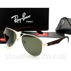 Жіночі сонцезахисні окуляри Ray Ban 3523 gold