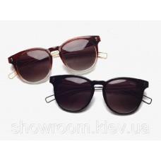 Женские солнцезащитные очки (8207) коричневые