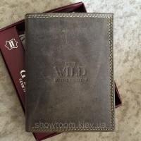 Мужское портмоне Always Wild (002-MH) brown