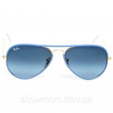 Жіночі сонцезахисні окуляри Ray Ban 3025jm full color blue