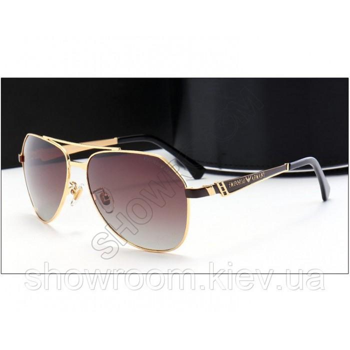 Солнцезащитные очки Armani (10009) brown lens
