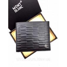 Чоловіче портмоне Montblanc (610) black