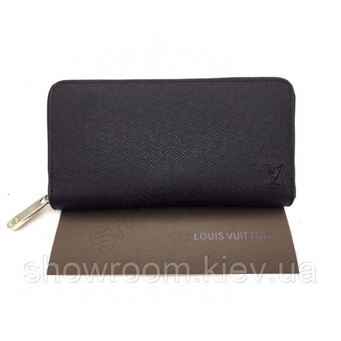 Мужской кошелек Louis Vuitton (60017) black