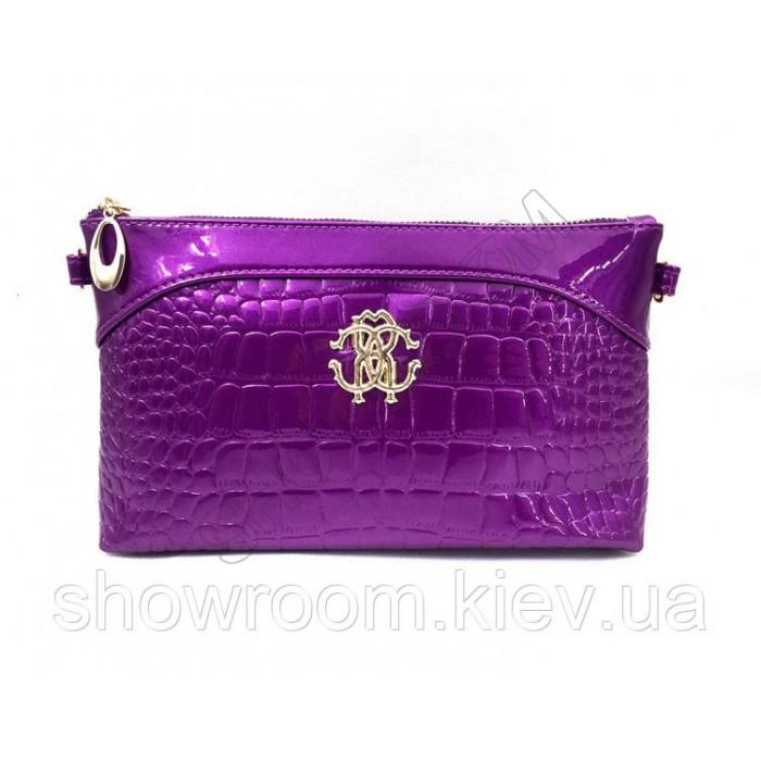 Клатч сумка из экокожи (1013) purple