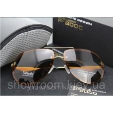 Сонцезахисні окуляри Porsche Design c поляризацією (p-8501) коричнева оправа