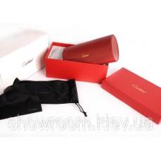 Сонцезахисні окуляри Cartier (135) чорна оправа