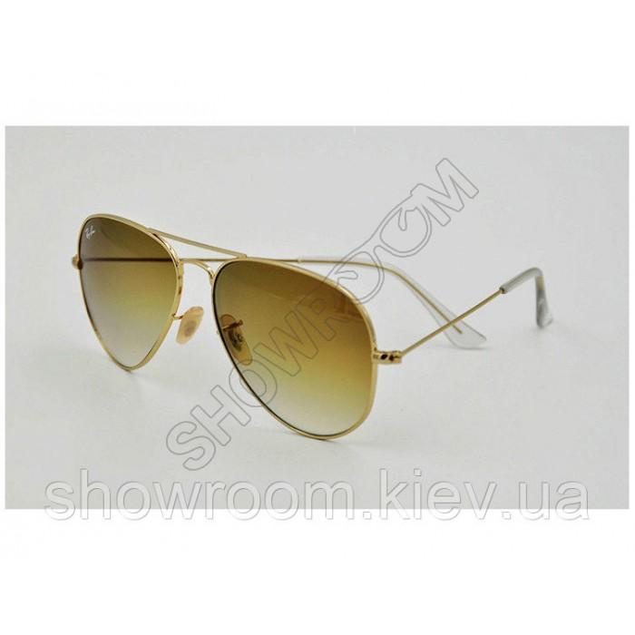 Мужские солнцезащитные очки RAY BAN aviator  3025,3026 gradient LUX