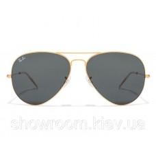 Жіночі сонцезахисні окуляри RAY BAN aviator 3025,3026 (001/62) Lux