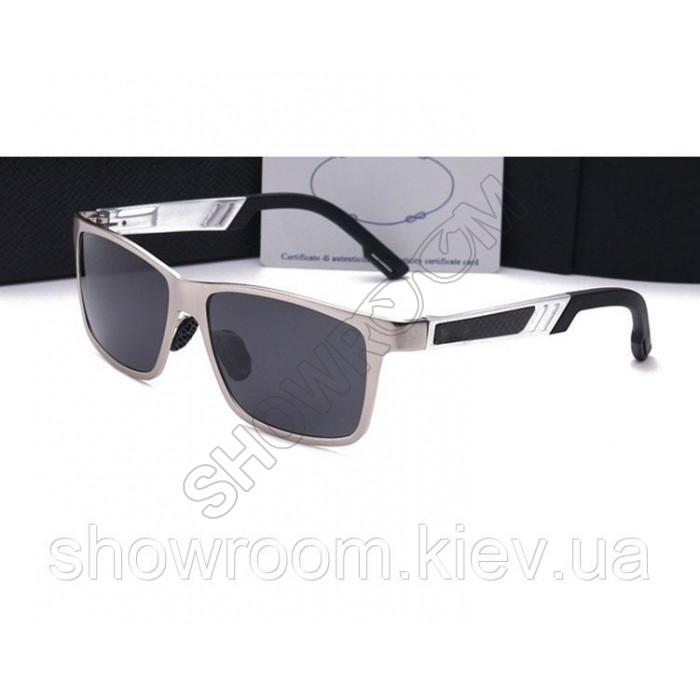Солнцезащитные очки в стиле Prada (6560) silver