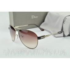 Сонцезахисні окуляри авіатори Homme (коричнева оправа)