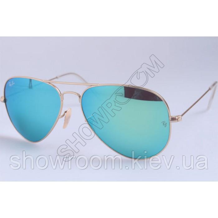 Мужские солнцезащитные очки RAY BAN aviator large metal 112/19 LUX