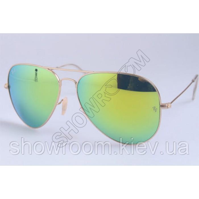 Мужские солнцезащитные очки RAY BAN aviator large metal 112/68 LUX