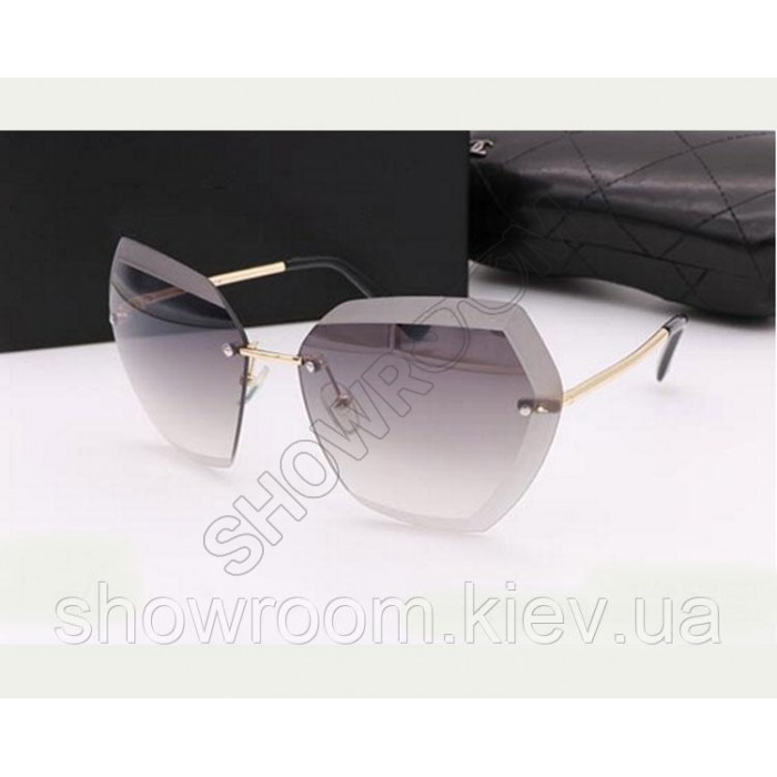 Жіночі сонцезахисні окуляри (9527) grey