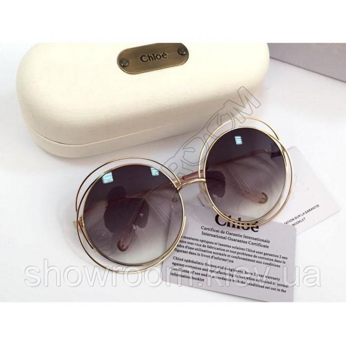 Солнцезащитные очки Chloe (114s) LUX grey