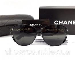 Жіночі модні сонцезахисні окуляри (71107) black