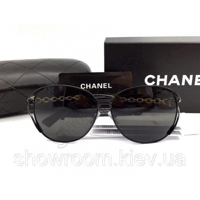 Женские модные солнцезащитные очки (71107) black