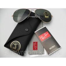 Жіночі сонцезахисні окуляри RAY BAN aviator 3025 (L0205) Lux
