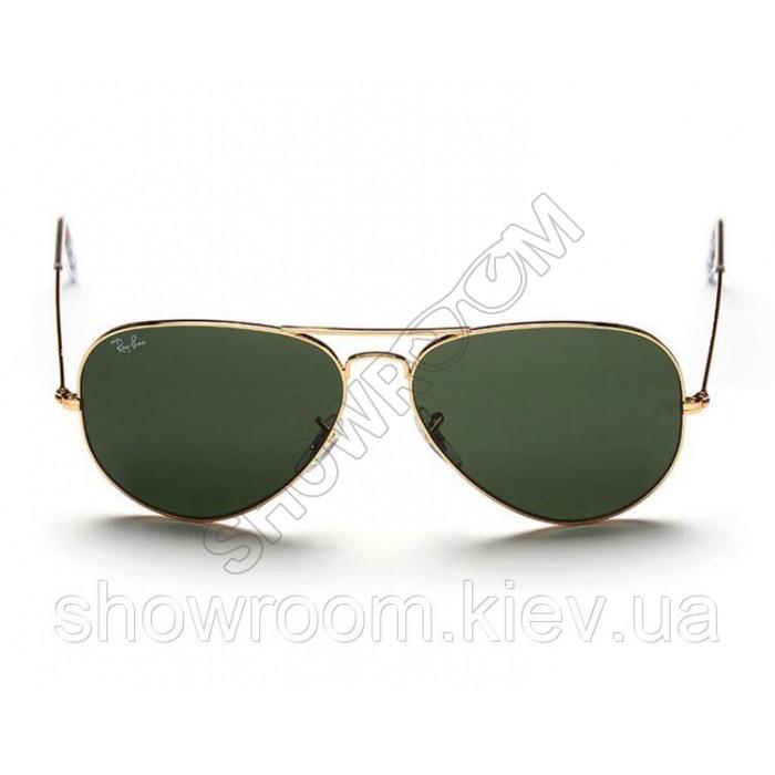 Женские солнцезащитные очки RAY BAN aviator 3026 (L2846) Lux