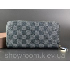 Мужской кошелек Louis Vuitton (60017) grey