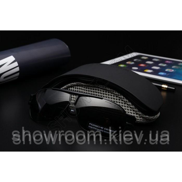 Солнцезащитные очки Porsche Design c поляризацией (p8516) черная оправа