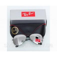 Жіночі сонцезахисні окуляри RAY BAN aviator (3026) grey