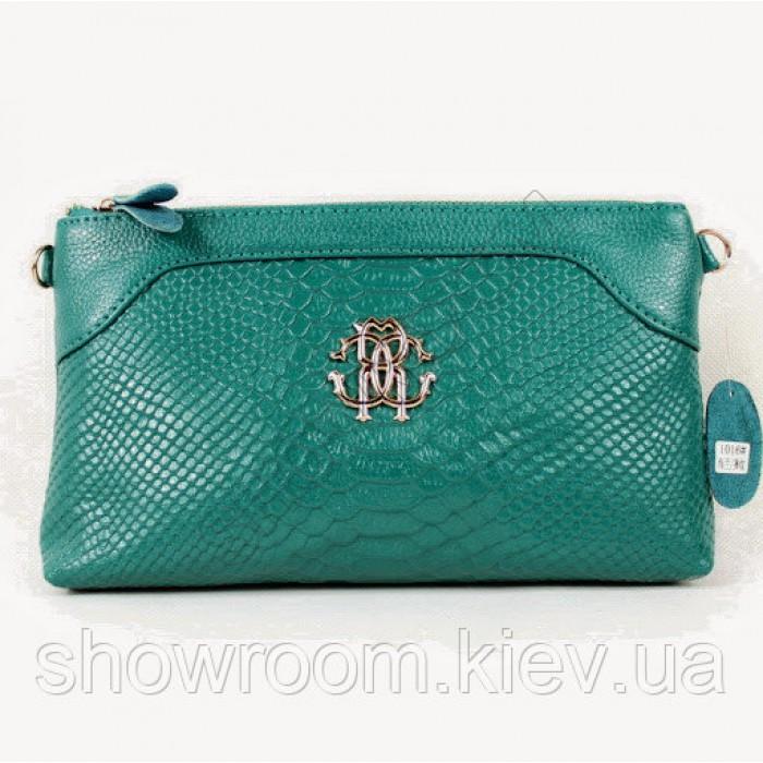Клатч сумка из натуральной кожи (1012) blue