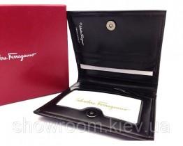 Чоловіче портмоне Salvatore Ferragamo (F-7113) black leather